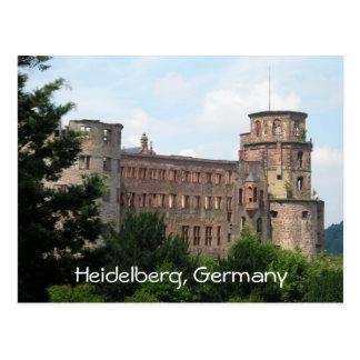 Kundengerechte Postkarte Schlosses Heidelbergs Deu