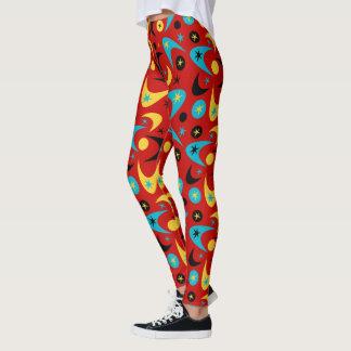 Kundengerechte Retro Bumerangs Leggings