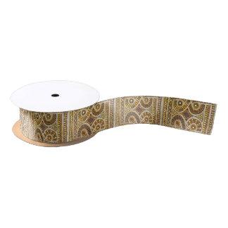Kundengerechte Romanesque-Mosaiken Satinband