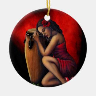 Kundengerechte Salsa-Verzierung Keramik Ornament