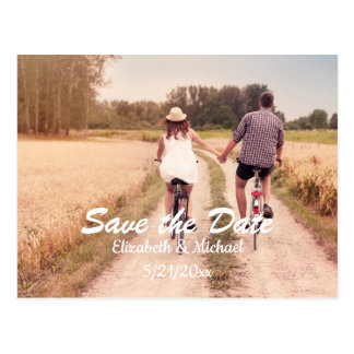 Kundengerechte Save the Date Postkarte