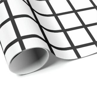 Kundengerechte schwarze u. weiße geschenkpapier