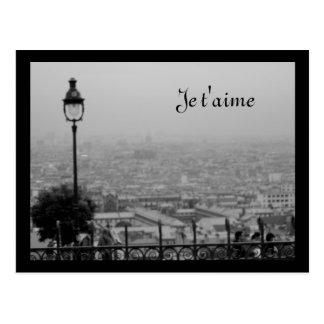 Kundengerechte Schwarzweiss-Paris-Postkarte Postkarte