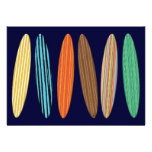 Kundengerechte Surfbretter Individuelle Ankündigskarten