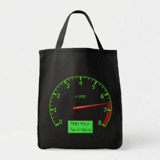 Kundengerechte Taschentasche Gearhead Autos Einkaufstasche