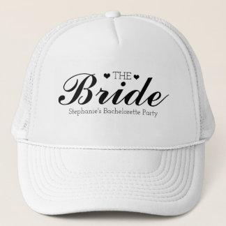 Kundengerechte Team-Braut-Fernlastfahrer-Hüte Truckerkappe