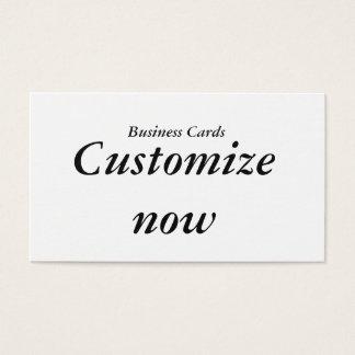 Kundengerechte Visitenkarten