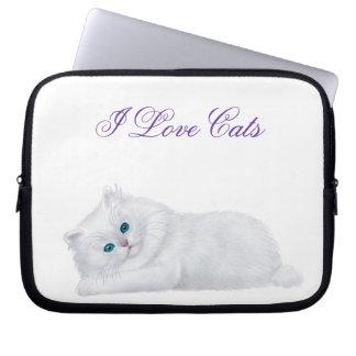 Kundengerechte weiße persische laptop sleeve