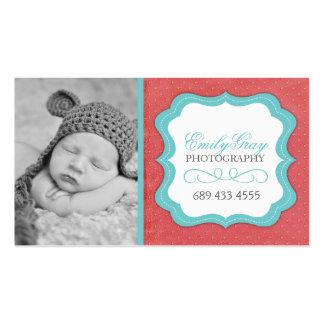 Kundengerechte wunderliche Fotograf-Visitenkarten Visitenkarten