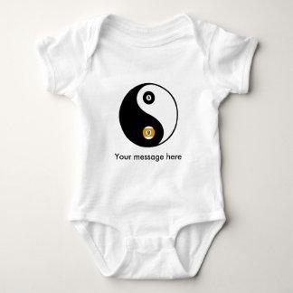 Kundengerechte YinYang Pool-Säuglingsabnutzung Baby Strampler
