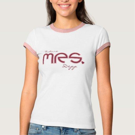 Kundengerechte Zukunft Mrs.T-Shirt T-Shirt