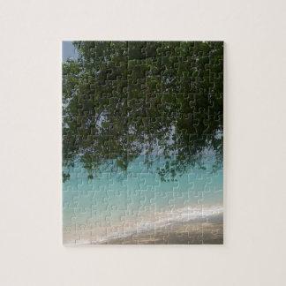 Kundengerechter Barbados-Strand Puzzle