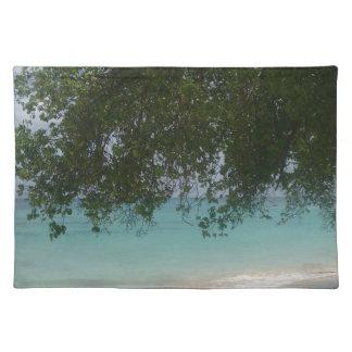 Kundengerechter Barbados-Strand Tischset
