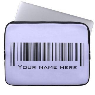 Kundengerechter Barcode Laptop Sleeve