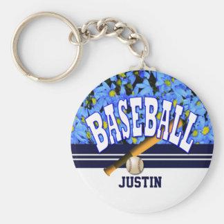 Kundengerechter Baseball modern Schlüsselanhänger
