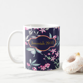 Kundengerechter Bibel-Vers-BlumenTasse Kaffeetasse