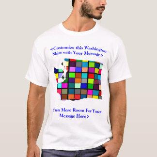 Kundengerechter bunter Wahl-T - Shirt Washingtons