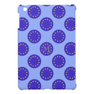 Kundengerechter Fall der Monogramm-Polka-EU/Brexit iPad Mini Hülle