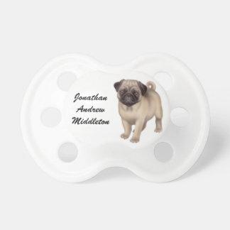 Kundengerechter freundlicher Mops-HundeSchnuller Baby Schnuller