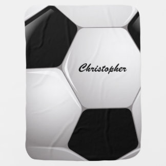 Kundengerechter Fußball-Fußball Babydecken