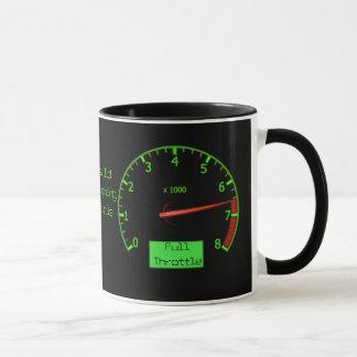 Kundengerechter Geburtstags-Gang-Treibstoff-Kopf Tasse