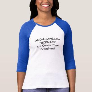 Kundengerechter Großmutter-Spitzname T-Shirt