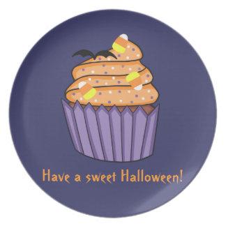 Kundengerechter Halloween-kleiner Kuchen Teller