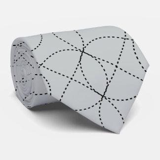 Kundengerechter Hintergrund mit schwarzem Infiniti Bedruckte Krawatten