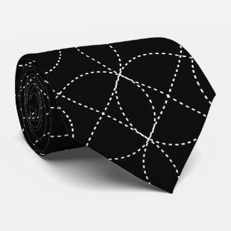 Kundengerechter Hintergrund mit weißem Infiniti OM Krawatte