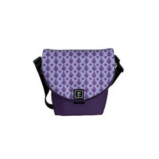Kundengerechter Indien-Block-Druck Kurier Taschen
