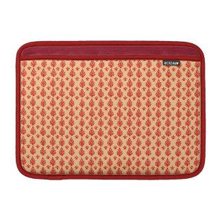 Kundengerechter Indien-Block-Druck MacBook Air Sleeve