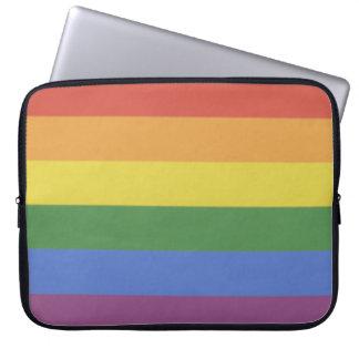 Kundengerechter Laptop-Hülsenregenbogen Laptop Sleeve