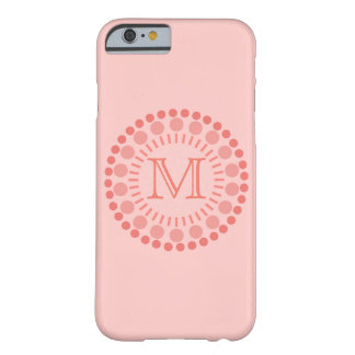 Kundengerechter Monogramm-Case-Mate iPhone 6/6S Barely There iPhone 6 Hülle