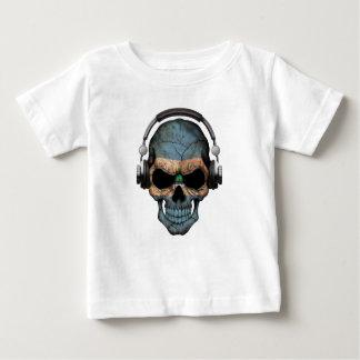 Kundengerechter Nicaraguaner-DJ-Schädel mit Baby T-shirt