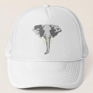 kundengerechter realistischer Elefant mit den Truckerkappe