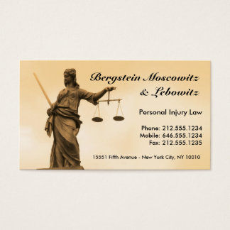 KUNDENGERECHTER Rechtsanwalt BC Visitenkarte