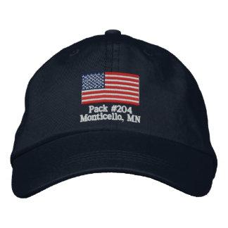 Kundengerechter Satz-Hut Bestickte Kappe