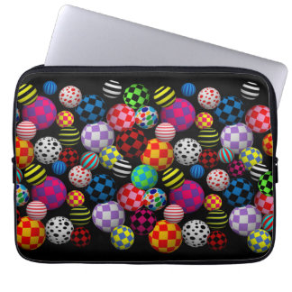Kundengerechter Spaß u. bunte Bälle Laptop Sleeve