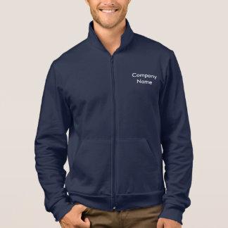 Kundengerechter Text, die Fleece-Ziprüttler der Jacke