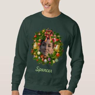 Kundengerechter WeihnachtsKranz Sweatshirt