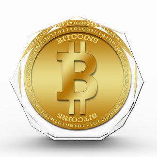Kundengerechtes achteckiges Preis Bitcoin