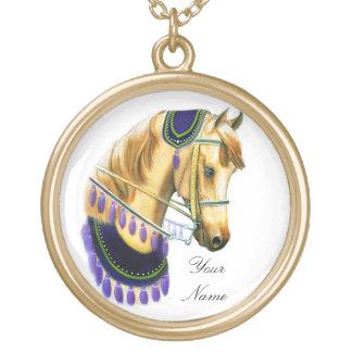 Kundengerechtes arabisches Pferd in der Vergoldete Kette