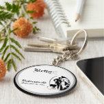 Kundengerechtes Brautjungfern-Andenken Keychain Schlüsselbänder