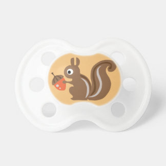 Kundengerechtes Eichhörnchen Baby Schnuller