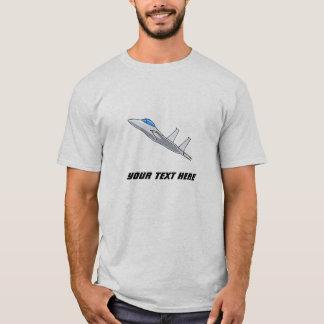Kundengerechtes fliegendes F15 Eagle T-Shirt