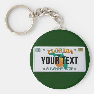 Kundengerechtes Florida-Kfz-Kennzeichen Schlüsselband