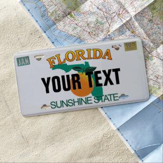 (Kundengerechtes) Florida-Kfz-Kennzeichen US Nummernschild