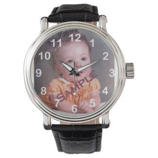 Kundengerechtes Foto Armbanduhr