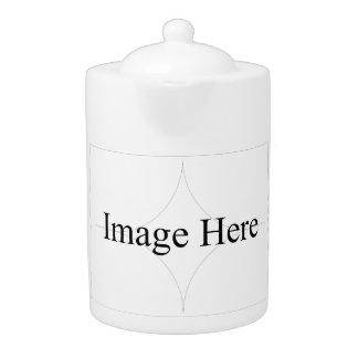Kundengerechtes Foto, mittlere Teekanne