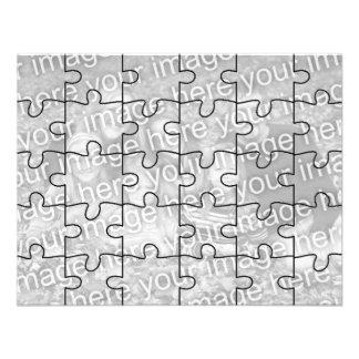 Kundengerechtes Foto- Spott- Puzzlespiel Card-30 Einladungen